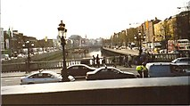 O1534 : The River Liffey from O'Connell Bridge, Dublin by Ian S