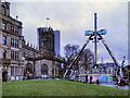 SJ8398 : Manchester Cathedral Gardens by David Dixon