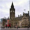SJ8398 : Manchester Town Hall, Albert Square by David Dixon