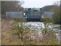 TF3902 : Ring's End sluice discharging into The River Nene - The Nene Washes by Richard Humphrey