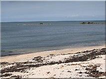 J4782 : The beach at Swineley Bay by Eric Jones