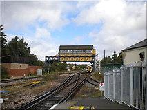 TR1458 : Canterbury West signal box by Richard Vince