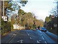 SY9491 : Holton Heath Crossroads, A351 by David Dixon