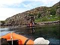 NG6933 : Eilean Mòr, Crowlin Islands by Rude Health