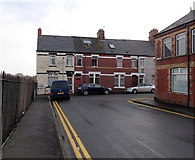 ST1166 : Northern end of Clive Place, Barry Island by Jaggery