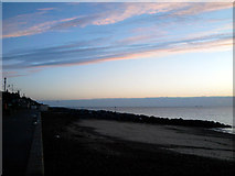 TM3034 : Sunrise At Felixstowe by Tim Marchant