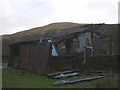 NY6001 : Ruined iron barn, lower Borrowdale by Karl and Ali
