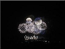 NT2573 : Edinburgh 2013 New Year's Fireworks - 1 by M J Richardson