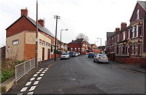 ST1166 : Western end of Redbrink Crescent, Barry Island by Jaggery