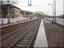 NS4473 : Bowling railway station, West Dunbartonshire by Nigel Thompson