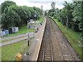 NS5362 : Corkerhill railway station, Glasgow by Nigel Thompson