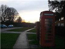 TQ8115 : Phonebox, Westfield by David Anstiss