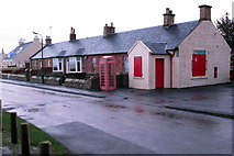 NS2107 : Maidens Post Office on Ardlochan Road by Philip Jeffrey