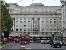 TQ2780 : The Cumberland Hotel, Oxford Street W1 by Robin Sones