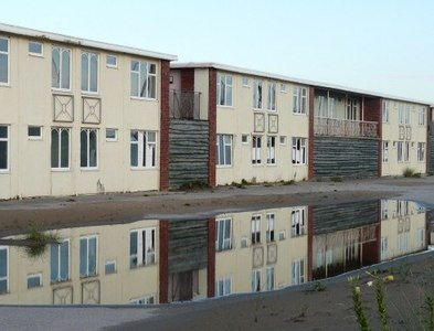 SD3030 : Reflections at Pontins by Gerald England