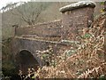 SS9088 : Disused bridge of the Port Talbot Railway, Garw Valley by eswales