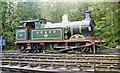TQ4023 : Former SE&CR 0-4-4T at Sheffield Park, Bluebell Railway 1992 by Ben Brooksbank