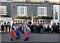 TQ3104 : Dancing by the Pump House in Brighton by Roger  Kidd