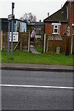 TF6830 : Elvis lives: Hunstanton Road, Dersingham by Christopher Hilton