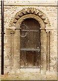 TL7835 : St Nicholas, Castle Hedingham - Doorway by John Salmon