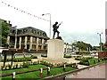 SD5817 : Chorley Pals Memorial by Ann Cook