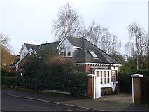 TQ2273 : Holly Lodge, Putney by David Anstiss