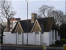 TQ2274 : South Lodge, Putney Heath by David Anstiss
