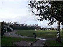 TQ2274 : Roehampton Playing Fields, Putney by David Anstiss