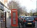 TQ2273 : Telephone Box, Putney Heath by David Anstiss