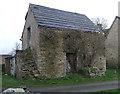 SU1699 : Barn, College Farm, Whelford by Vieve Forward