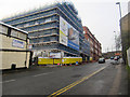 NZ2463 : New police station under construction, Newcastle upon Tyne by Graham Robson