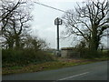 SU8206 : Communications mast on Clay Lane by Dave Spicer