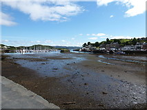 NR8668 : Tarbert: the tide is out by Chris Downer