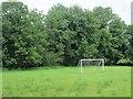 N3167 : Goalposts, Rathowen by Richard Webb