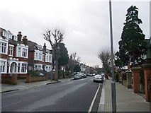 TQ2374 : Hazlewell Road, Putney by David Anstiss