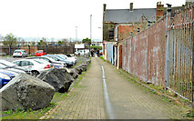 J5081 : The Vennel, Bangor by Albert Bridge