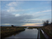NT6578 : East Lothian Landscape : A Winter Afternoon On The Biel Water by Richard West