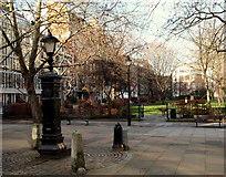 TQ3081 : Queen Square Gardens, WC1 by David Hallam-Jones