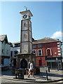 SN5881 : The Millennium Clock Tower, Aberystwyth by Jaggery