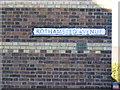 TL1314 : Rothamsted Avenue sign by Adrian Cable