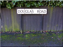 TL1314 : Douglas Road sign by Adrian Cable