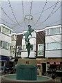 TQ3104 : Dolphin Fountain Sculpture, Brighton Square by Paul Gillett