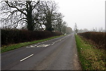 SP9927 : Toddington Road enters Tebworth by Philip Jeffrey