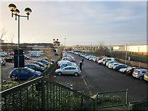 NS3421 : Ayr Car Parks by Billy McCrorie