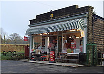 SK2666 : Village shop, Rowsley by Andrew Hill