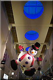 NT2677 : Christmas decoration in Ocean Terminal, Leith by Mike Pennington