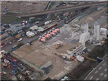 TQ3980 : Euromix depot by Stephen Craven