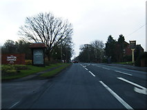 SD5137 : A6 southbound at Barton Grange Hotel by Colin Pyle