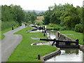 SP1756 : Wilmcote Locks No 46, Warwickshire by Roger  Kidd