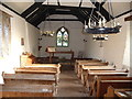ST4698 : Interior of the Church of the Holy Cross, Kilgwrrwg, Monmouthshire by Jeremy Bolwell